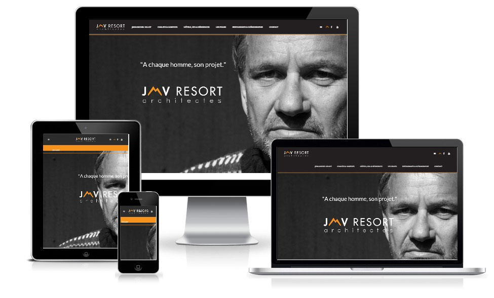 agence web chambery creation site internet jmvresort.com