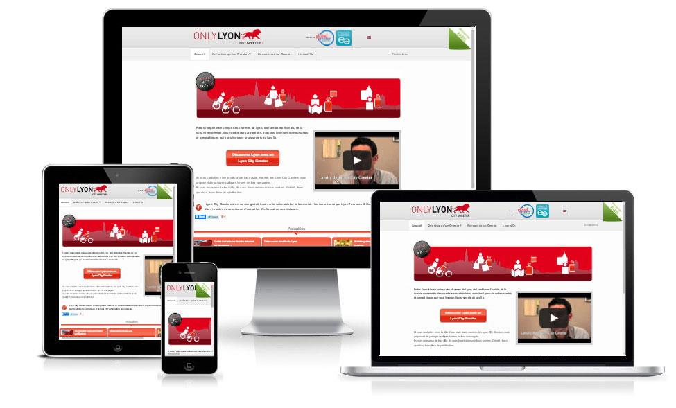 agence web chambery creation site internet lyoncitygreeter.com