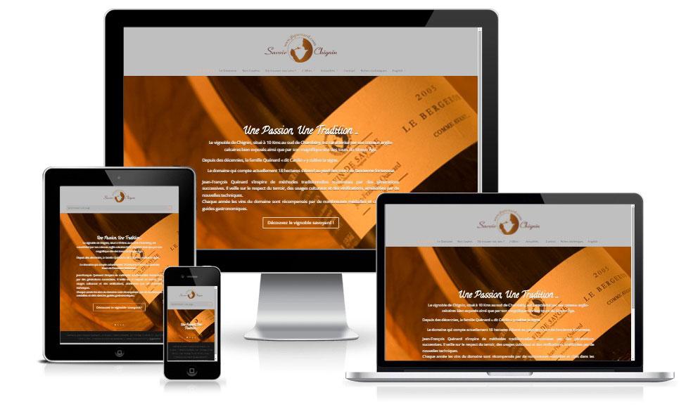 agence web chambery creation site internet jfquenard.com