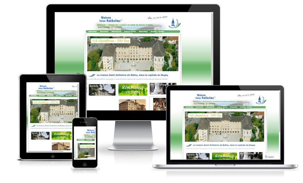 agence web chambery creation site internet maisonsaintanthelme.com