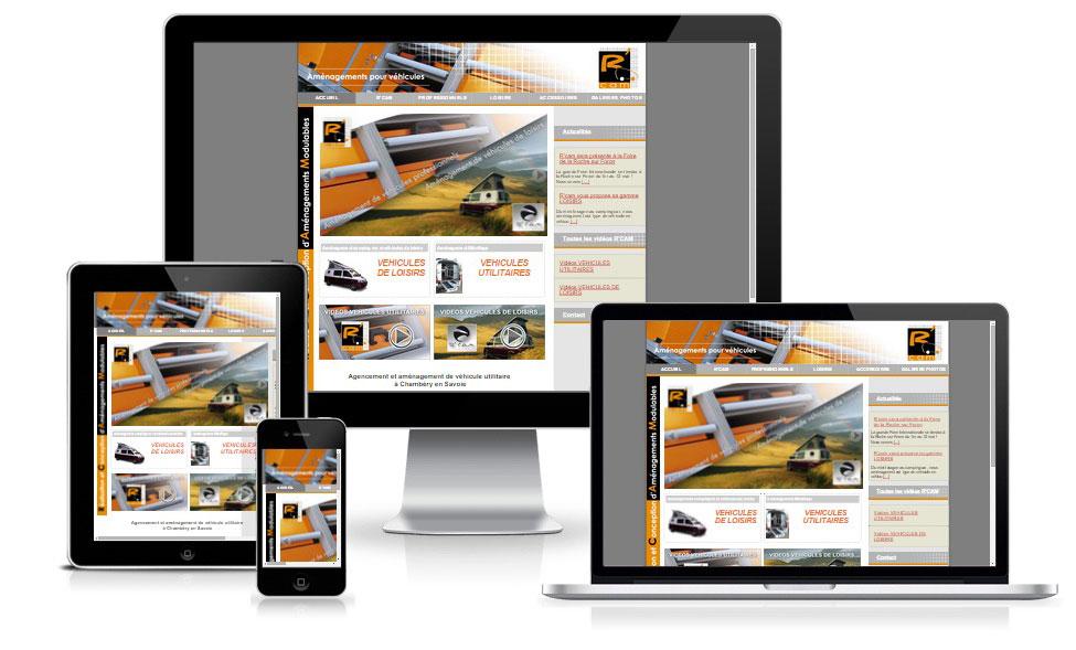 agence web chambery creation site internet rcam.fr
