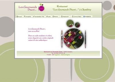 restaurant-les-gourmands-disent.com